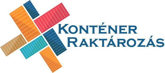 KonténerRaktározás logó